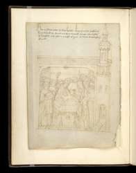 The Baptism of Richard, in the Pageants of Richard Beauchamp